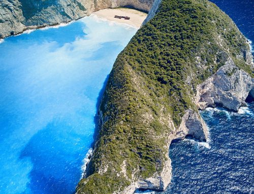 Navagio Beach Drone Photography