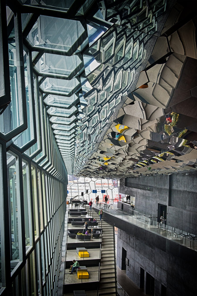 seating area harpa