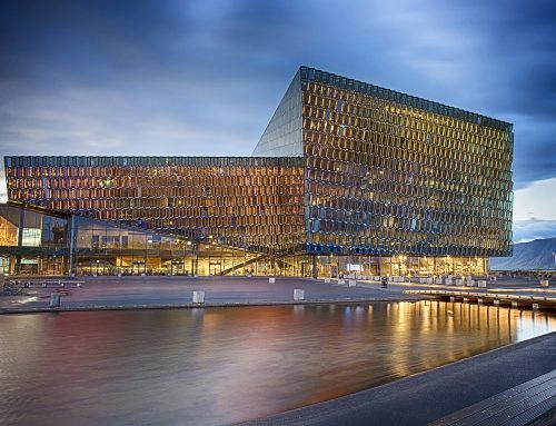 Photographing Harpa Concert Hall