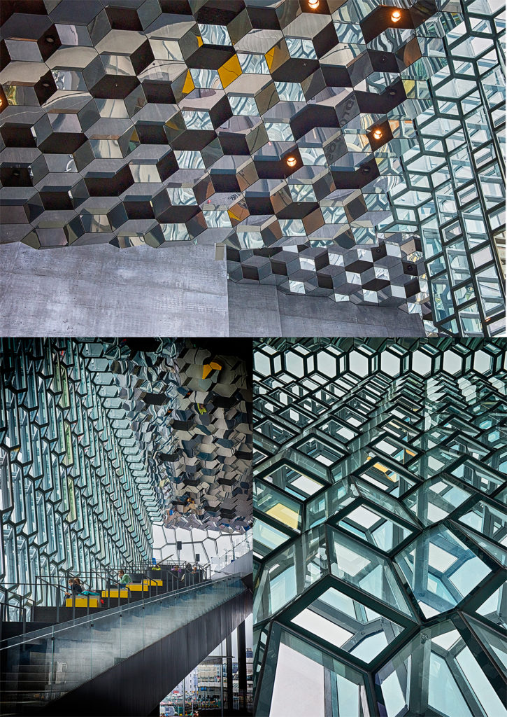 inside of harpa