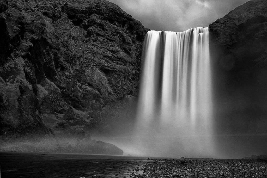 Skogafoss photographed with Nikon D600