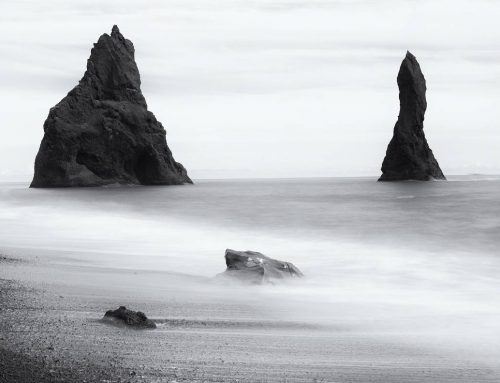 Photographing Black Beach, Iceland
