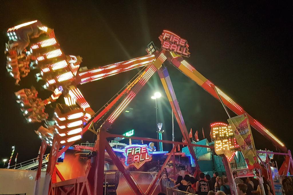 calgary stampede Fireball ride