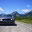 BMW 330i in Waterton lakes national park